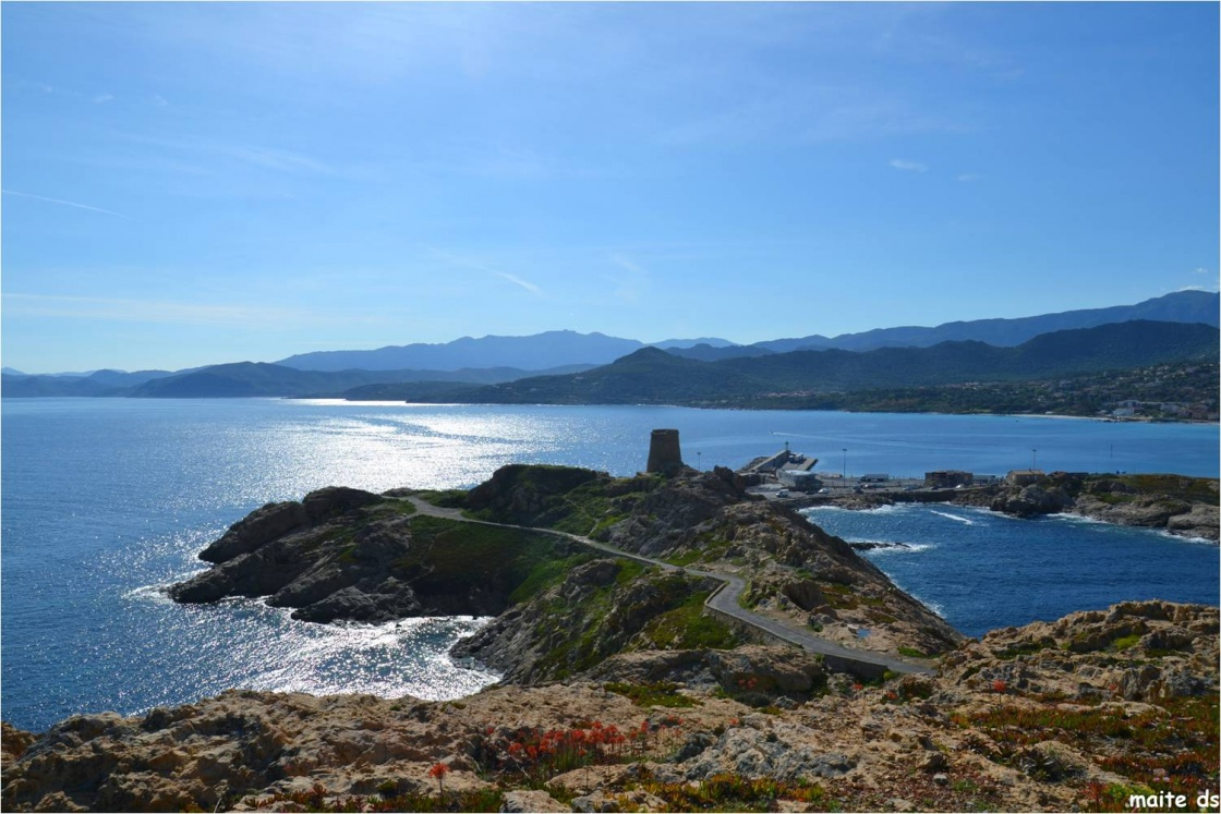 Les îles rousses - Corses