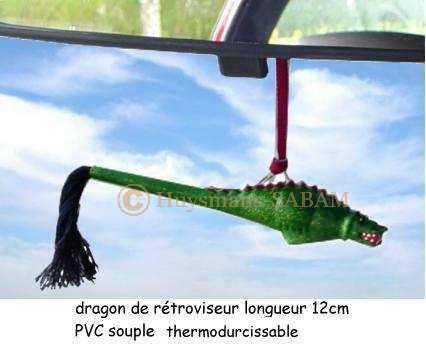 Folklore montois: figurine Dragon du Doudou à suspendre - Arts et sculpture: sculpteur designer