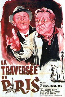 LA TRAVERSEE DE PARIS BOX OFFICE ANNUEL FRANCE 1956 TOP 25