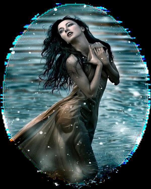 Femmes au bord de l'eau