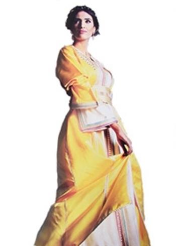Takchita marocaine haute couture pour mariage oriental TAK-S808