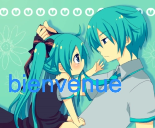 Little Miku et Mikuo