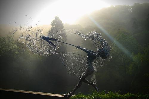 Robin Wight et ses fées fil de fer