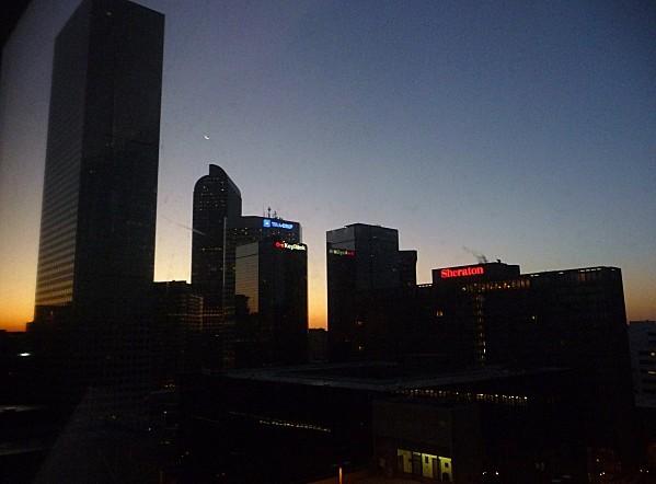 Jour 2 Denver lever de soleil