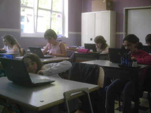 Classe informatique mobile
