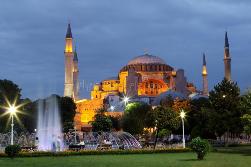 Haghia Sophia Istanbul Image libre de droits