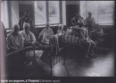 Un hopital apres un pogrom en Ukraine , 1920