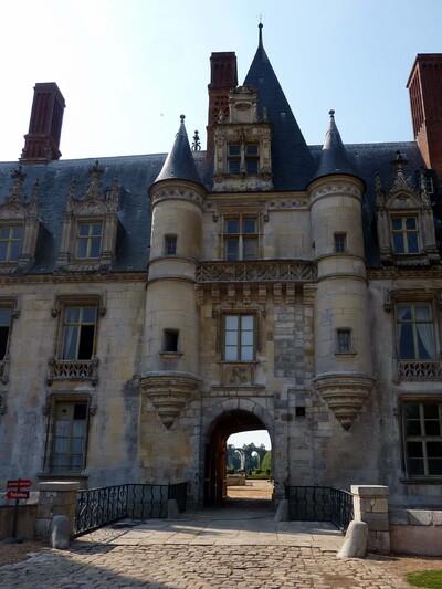 Promenade au château de Maintenon