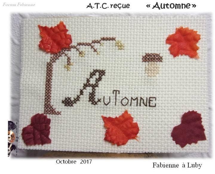 """ATC """"Automne"""""""