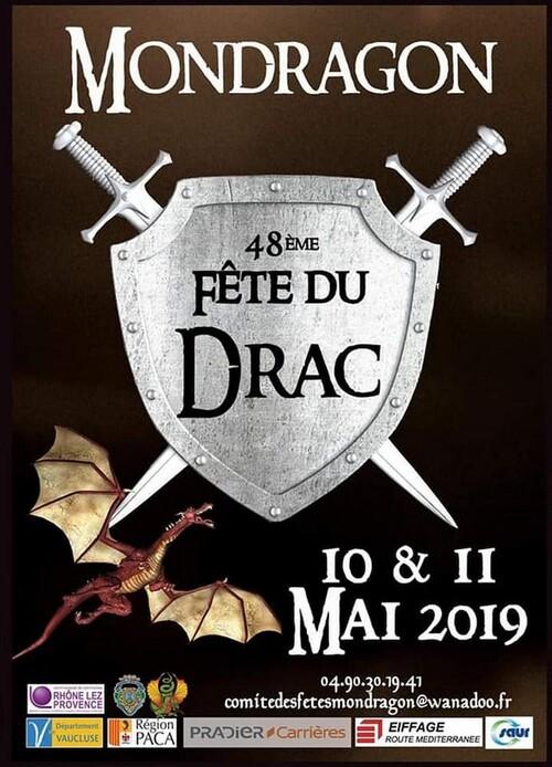 Fête du Drac. Mondragon. mai 2019