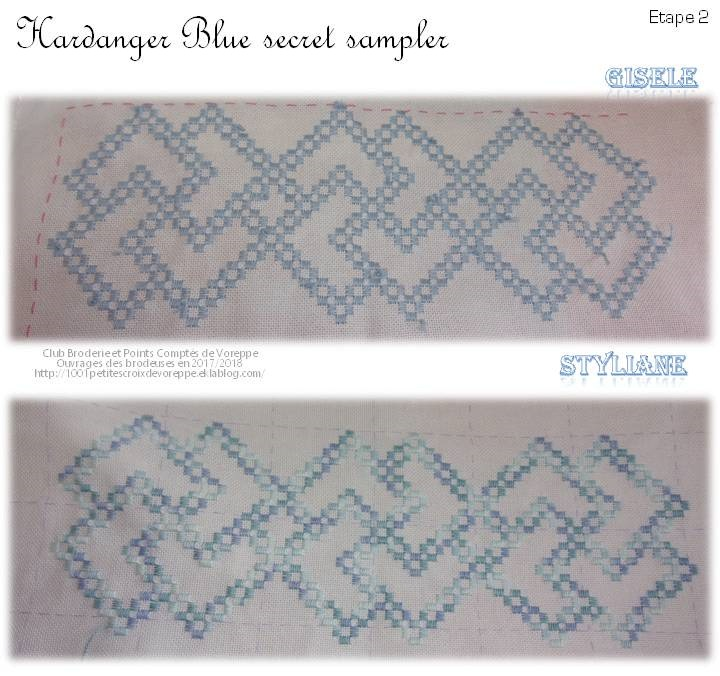 Hal The Blue Secret Hardanger Sampler de Vavi (2)