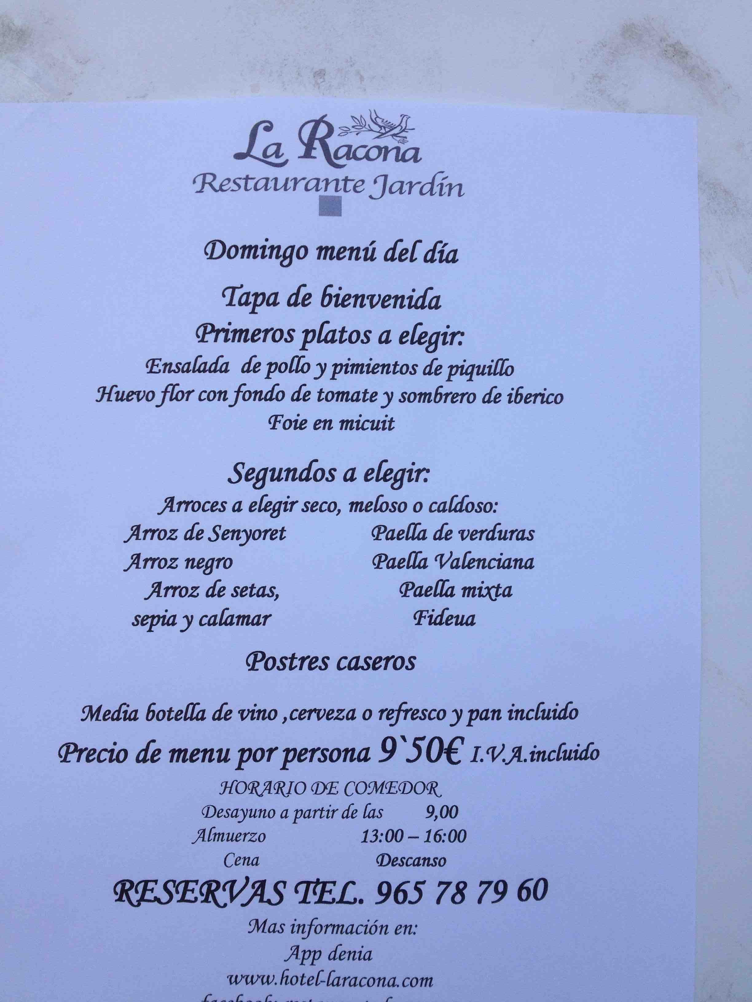 Quique dacosta alchimiste des saveurs le blog de benissa - La cuisine en espagnol ...