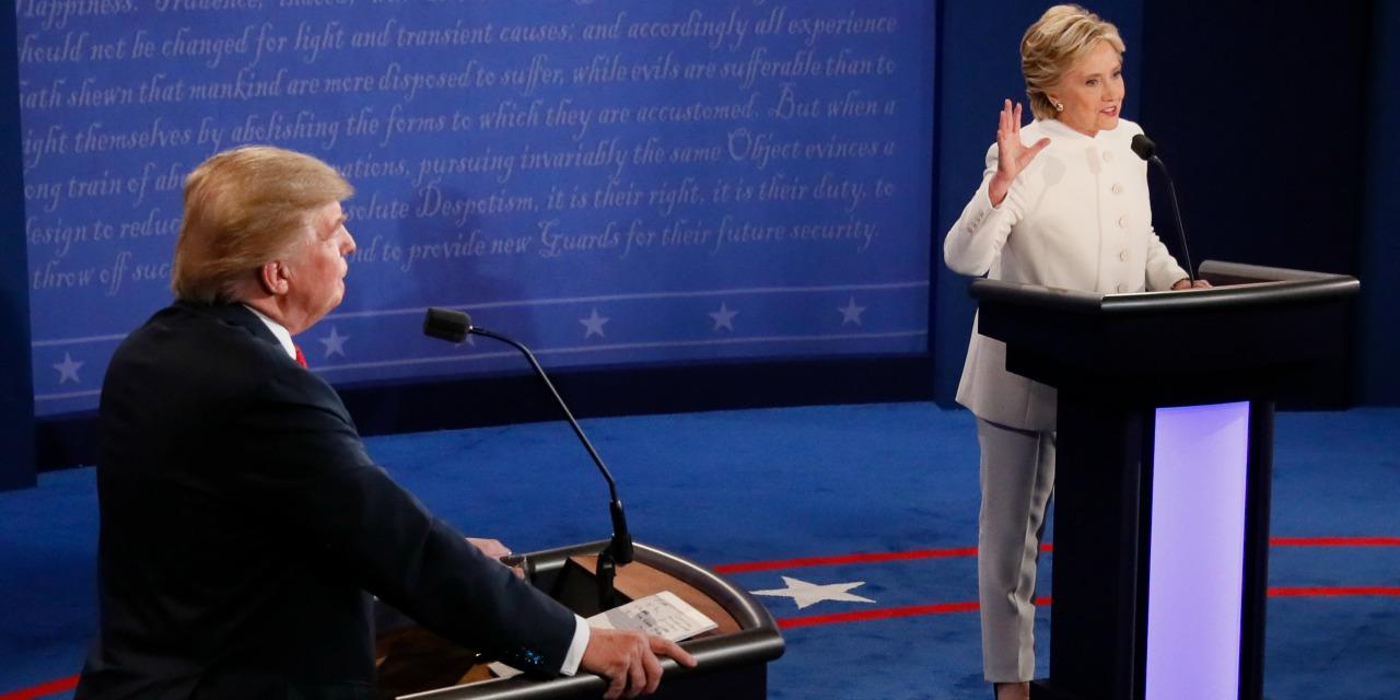 Présidentielle US : suivez le dernier débat entre Trump et Clinton en direct