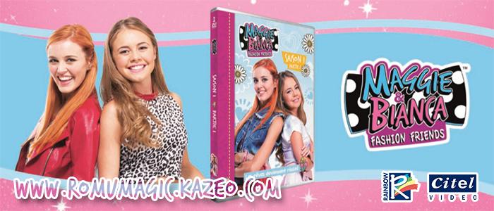 Maggie & Bianca : Visuel du DVD Volume 1 !