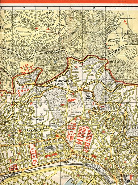 Plan d'Alger - éclaté haut 2