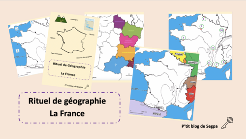 Rituel de géographie: la France