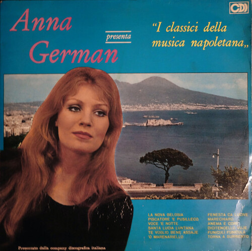 GERMAN, Anna - Torna a Surriento  (Romantique)
