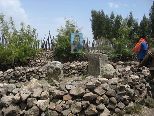 tombe de Tewodros
