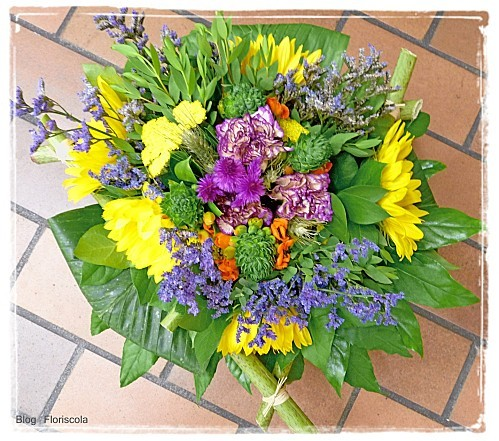 photo bouquet rond n4