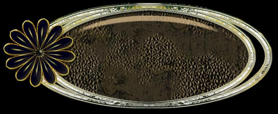 Cadres à personnaliser  texture vintage déco fleur noire