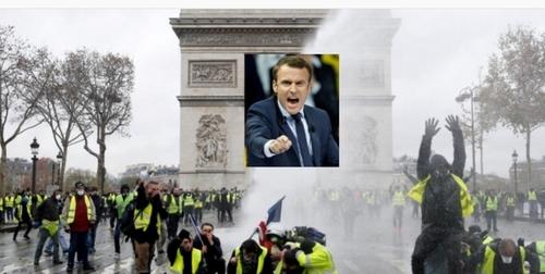 Macron, tous ces maux, c'est VOTRE faute ! (Jacques GUILLEMAIN, ex-officier de l'armée de l'Air) - L'apocalypse en jaune fluo