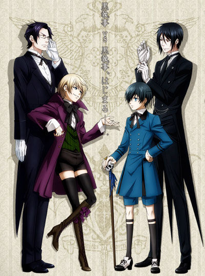 Black Butler S2 vf