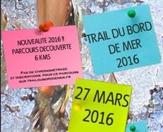 Trail du Bord de Mer - Arzon - Dimanche 27 mars 2016