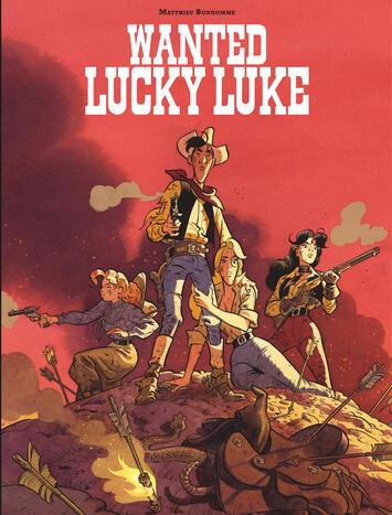 """""""Wanted Lucky Luke"""" : un album surprenant et... très référenciel !"""