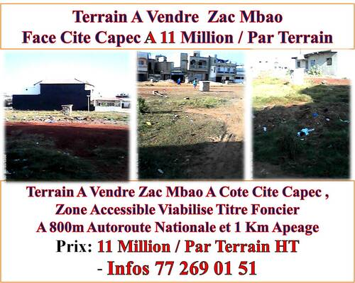 L`Immobilier Au Senegal,Informez Vous Au +221 77 269 01 51