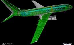 Avion modélisé
