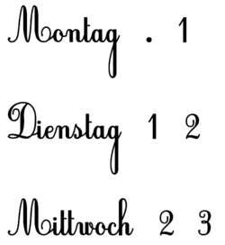 Rituels de la date édition bilingue