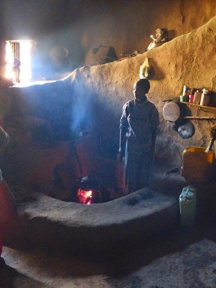 visite d'une hutte