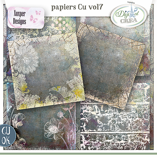 Pack Papiers Cu Vol7 de Xuxper designs