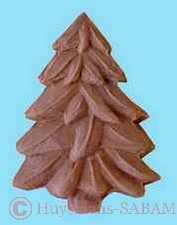 Biscuit sapin réalisé dans un moule artisanal - Arts et sculpture: sculptrice sur bois