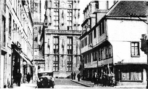 L'hôtel du beffroi, rue André Gerschel il y a 50 ans
