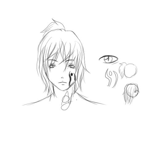 Eiji - Sketch design officiel