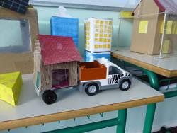 Les secondaires présentent les énergies renouvelables aux primaires