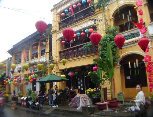 Au Vietnam: Hoi an