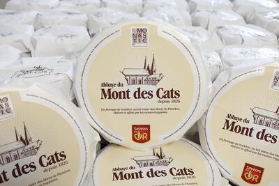 FROMAGES DE NOS REGIONS LE MONT-DE-CATS