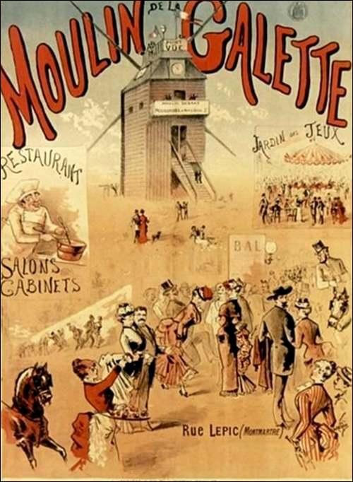 Le grand almanach de la France : Montmartre et les cafés d'artistes.