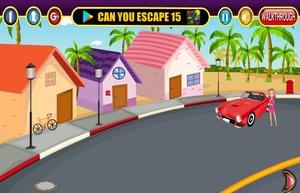 Jouer à Girl escape with car