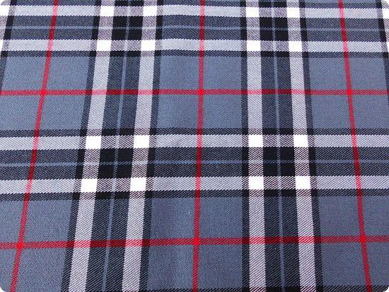 Tissus à motif écossais