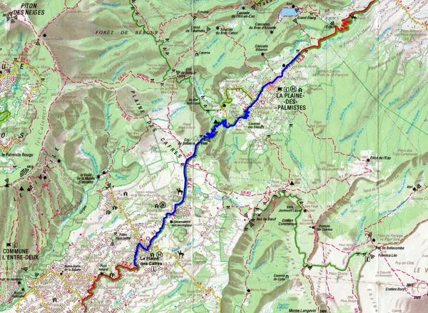 La Route des Plaines - De La Plaine des Cafres à La Plaine des Palmistes