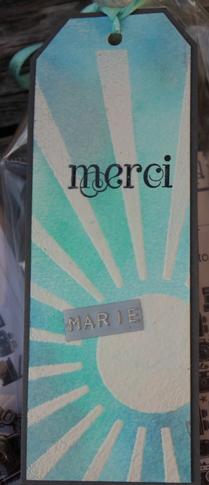 Carterie : Quelques étiquettes / marque-pages