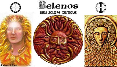 Belenos, soleil celtique