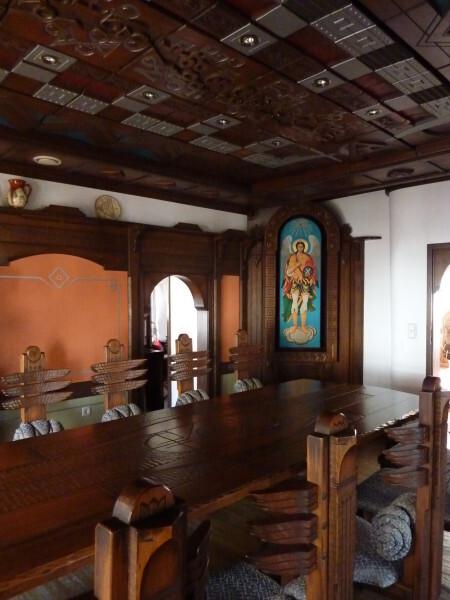 Jour 12 - Triavna - Maison aux plafonds de bois 3