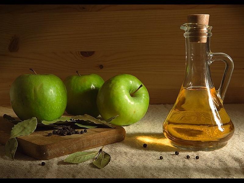 Лечение уксус яблочный и геморрой