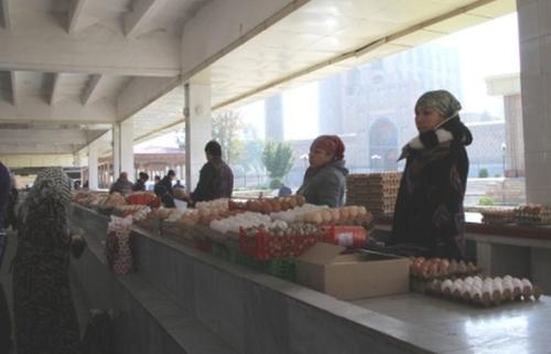 Le bazar de Samarcande