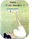 Yes, j'ai maigri