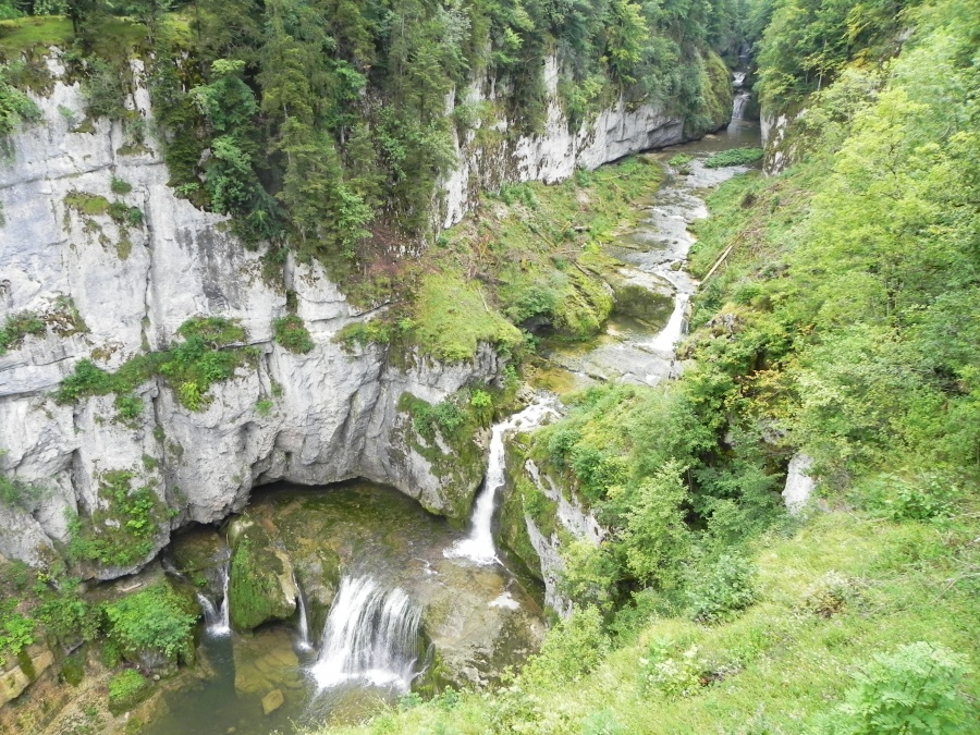 La cascade de la Billaude
